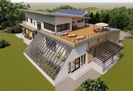 Les habitations écologiques au coeur de l'événement